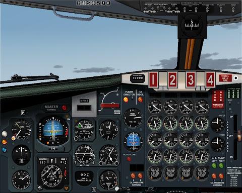 Subindo em rota para altitude de cruzeiro