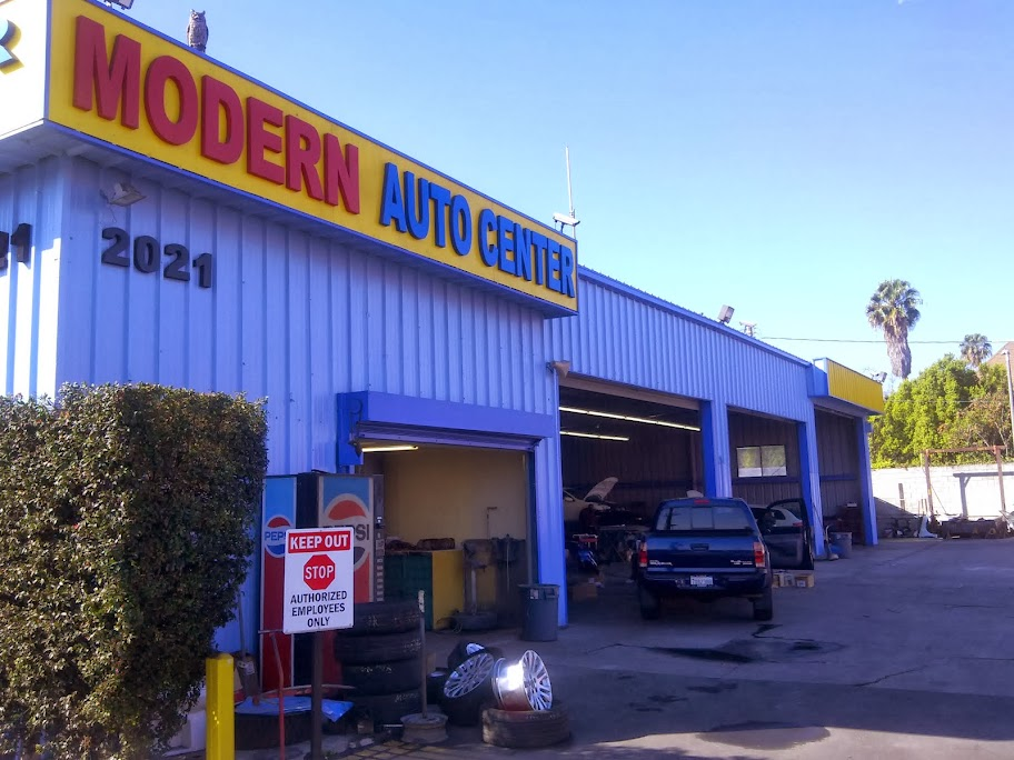 auto body shop la | Modern Auto Center at 2021 S Western Ave, Los Angeles, CA