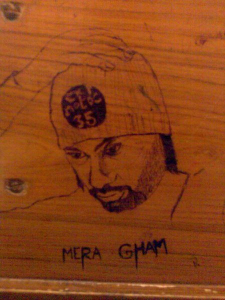 Mera Gham drawing