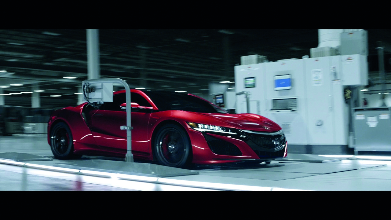 Acura NSX Supercar 'Original Must Be Done'