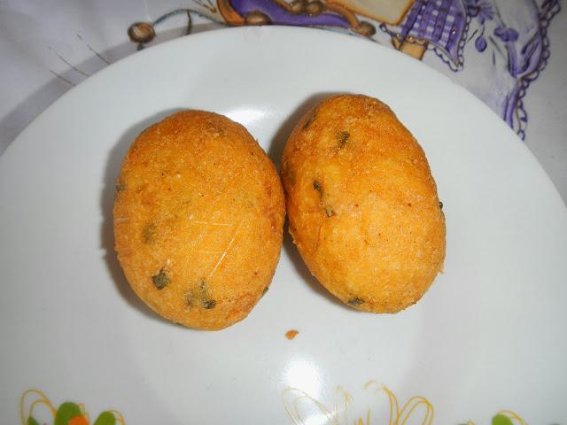 Bolinho de frango Capotado