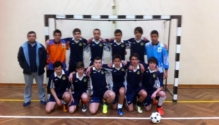 Juvenis Masculinos de Futsal nas Meias-Finais