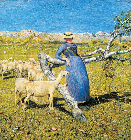 Giovanni Segantini - High Noon in the Alps