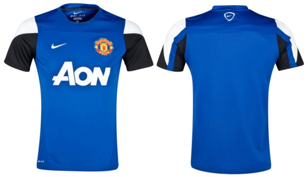 Jual Jersey Training Manchester United Warna Biru