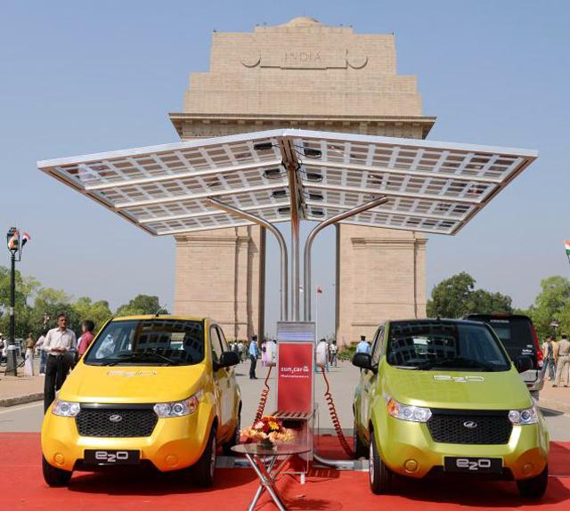 Mahindra выпустила электромобиль за 8500 евро