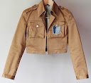 coklat, attack on titan jacket, denim canvas tebal, Hoodie, hoodie korea murah, korea, murah, warna, Pre Order, fashion korea, hoodie lucu