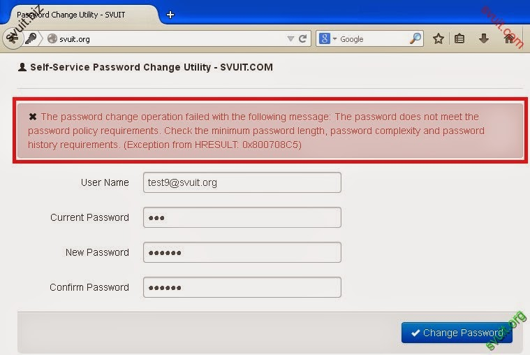 windows 2008 password does not meet requirements