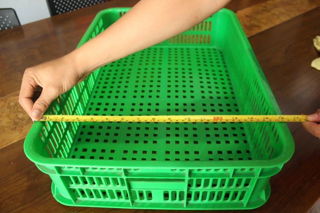 JUAL KERANJANG KONTAINER PLASTIK TIPE 2212 L | www.rajarakminimarket.com | RAJA RAK INDONESIA | JAKARTA