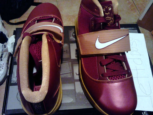 Nike Zoom Soldier IV 8220Christ the King8221 ver 30 Away PE