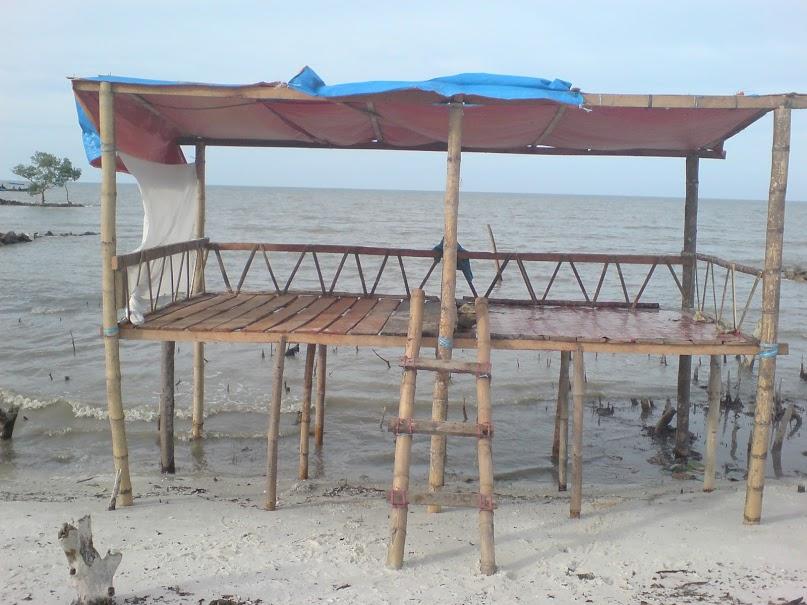 Rekreasi bersama Pantai Bunga Batu Bara-0c3a