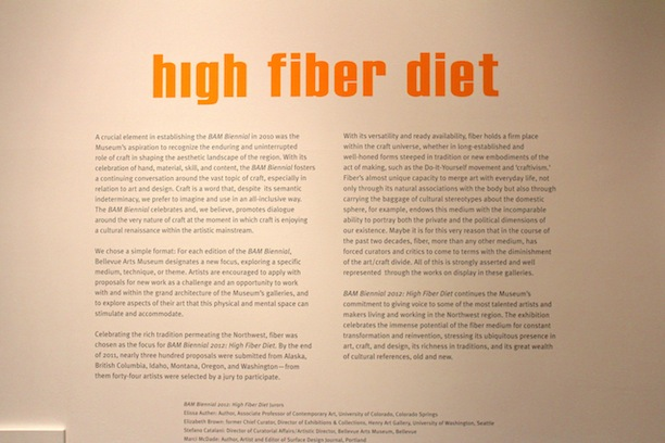 Nikki McClure & High Fiber Diet at the Bellevue Art Museum