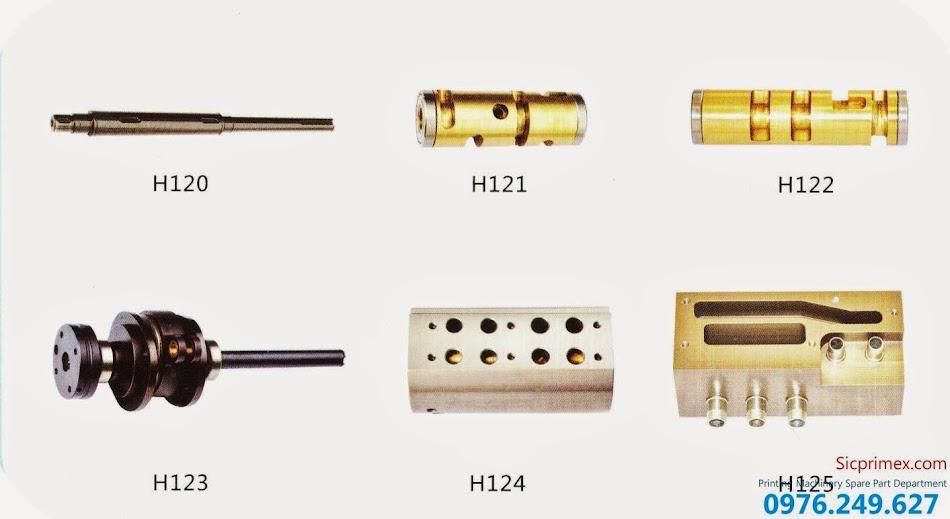 Phụ tùng máy in chính hãng Heidelberg chất lượng cao giá rẻ H120-125