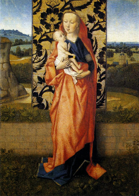 Dieric Bouts - Virgin and Child