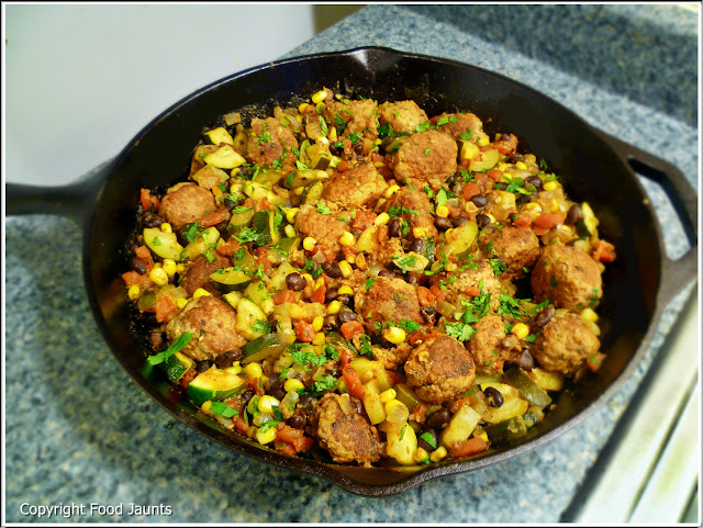 Recipe: Southwest Meatball Skillet