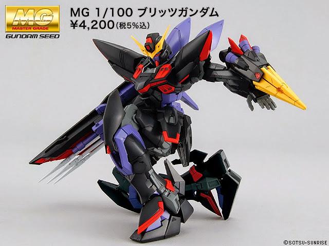 Blitz Gundam MG 1/100 đem đến phạm vi chuyển động không thể tin được