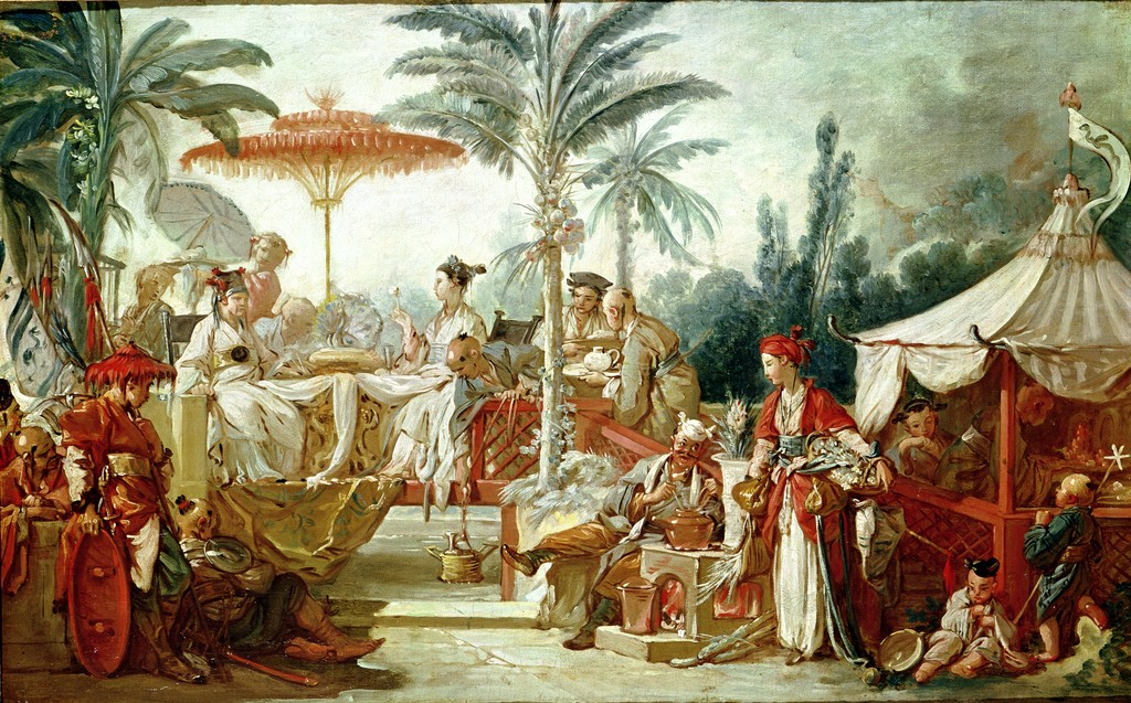 Francois Boucher - Feast of the Chinese Emperor