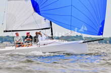 J/70 sailing with Groobey family from Annapolis