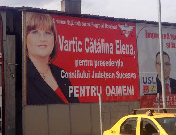 Cătălina Vartic preşedente