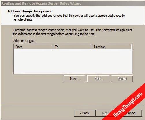 Cấu hình VPN client to site