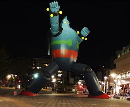 実物大鉄人28号 2012/12/10
