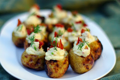 Potato Bacon Bombs by Within the Kitchen