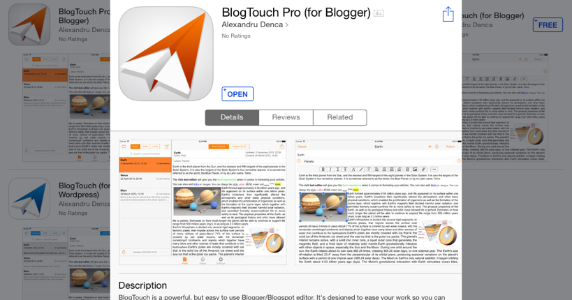 BloggerPack is the easiest way to manage your blogs from your iPhone or  iPad. Have something you need to get posted quickly, but you are not near  your ...