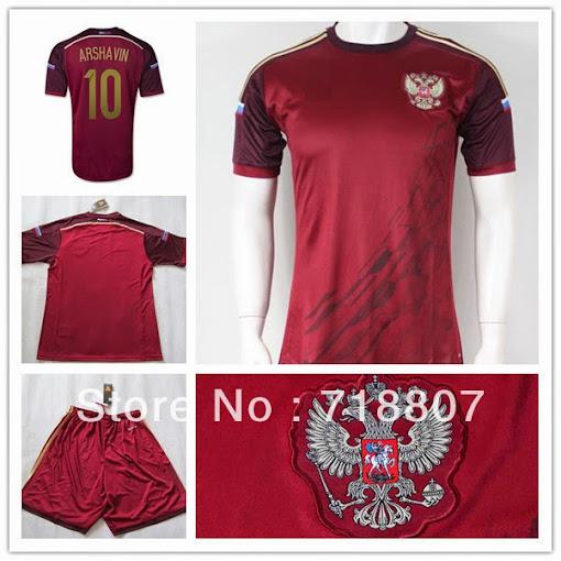 áo bóng đá nga sân nhà