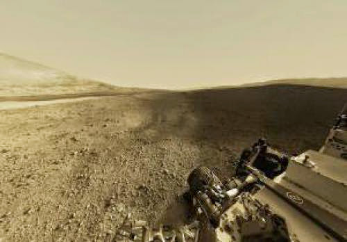 Explore Mars And The Curiosity Rover Through A Panorama