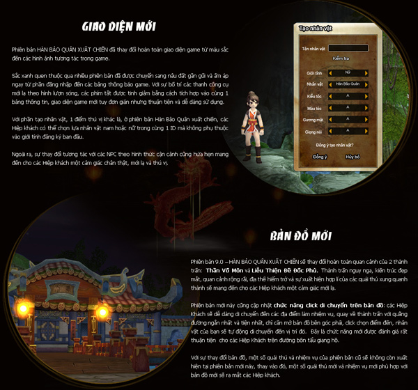 Hiệp Khách Online ra mắt nhân vật mới Hàn Bảo Quân 6