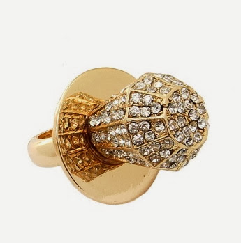 glam chic bling ring pop fashion ring in