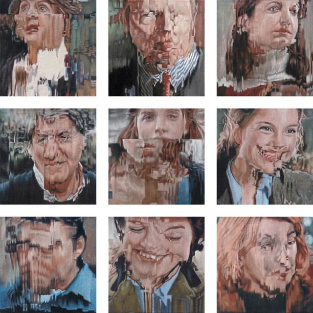9 portraits by Jens Hesse