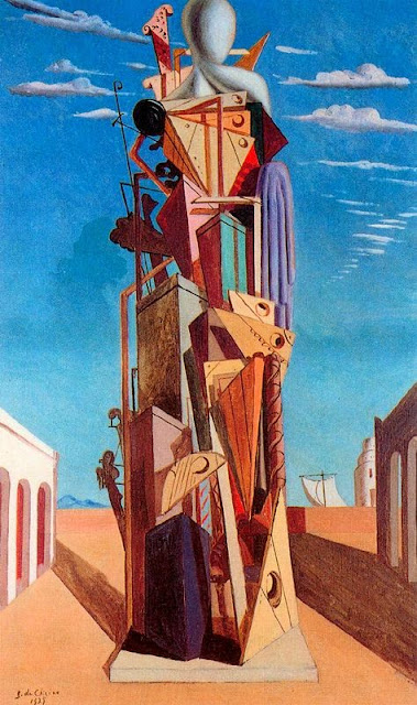 Giorgio de Chirico - The Great Machine, 1925