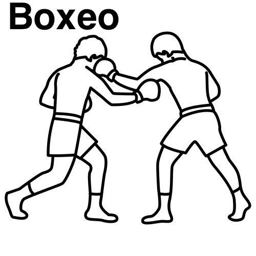Guantes De Boxeo Para Dibujar Imagui