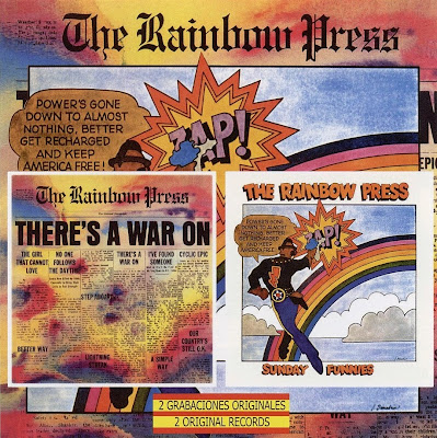 the Rainbow Press ~ 1968 ~ There's a War On + 1969 ~ Sunday Funnies