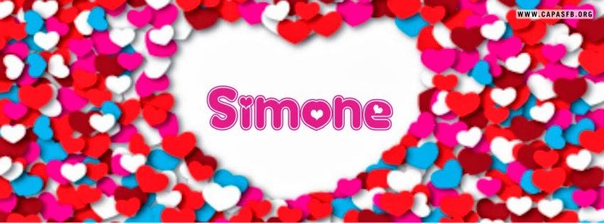 Capas para Facebook Simone