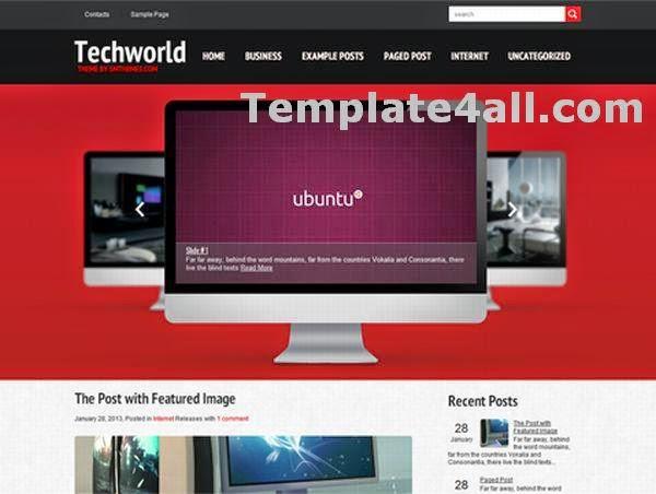 Technology Wordpress Theme Free Download