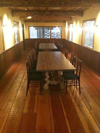 "120"" x 38"" Arcadia Table in Custom Ash"