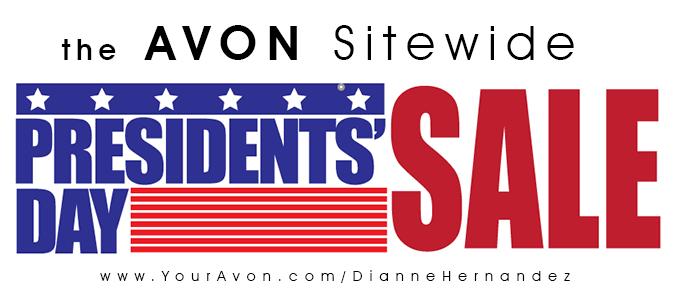 Avon Presidents Day Sale