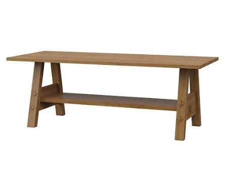 Geneva Coffee Table in Classical Maple