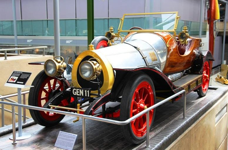 The old girl herself, the car that flew - Chitty, Chitty, Bang, Bang.