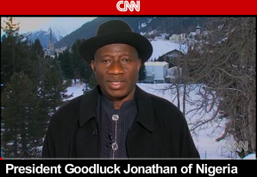 President Goodluck Jonathan's Interview on CNN - Anampour