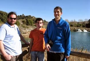 Visitando la cascada de la Redondilla sobre la Lengua