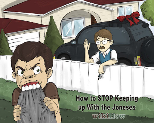 How To Stop Keeping Up With The Joneses Image