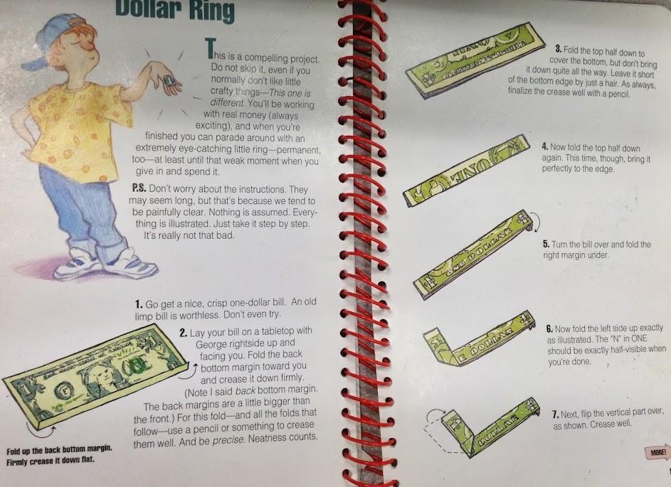 How to Fold a Dollar Bill Ring – DateBox Club | 685x943