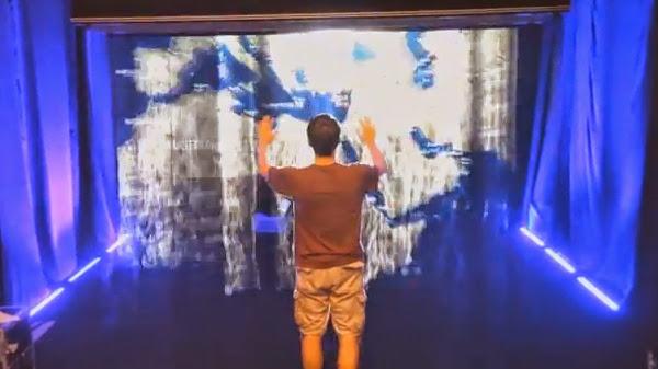 レイアホログラム映像システム