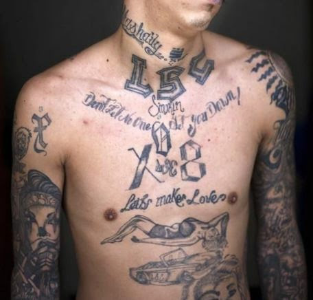 50 Prison Gang Tattoos With Meanings 2019 Jail Criminal