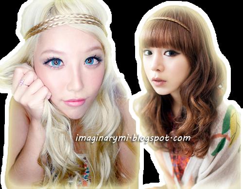 , Gyaru and Ulzzang love this hair style! I love Bohemian Hair too