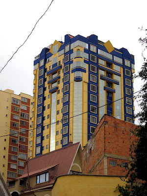 Building in La Paz Bolivia