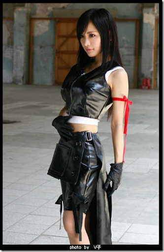 final fantasy vii advent children cosplay - tifa lockhart 8