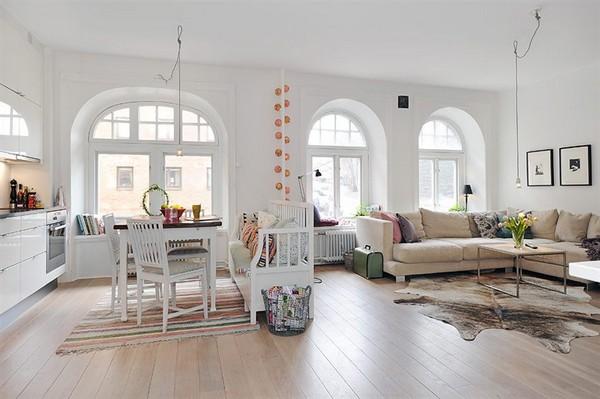 Swedish Apartment Design house architecture design, home interior & furniture design